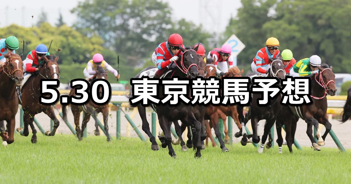 【日本ダービー/目黒記念】2021/5/30(日) 中央競馬 穴馬予想(東京競馬)