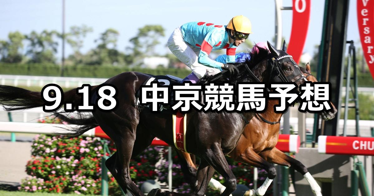 【ケフェウスステークス】2021/9/18(土) 中央競馬予想(中京競馬)